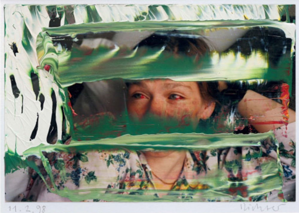 Gerhard Richter, uit de serie 'Painted Photographs'
