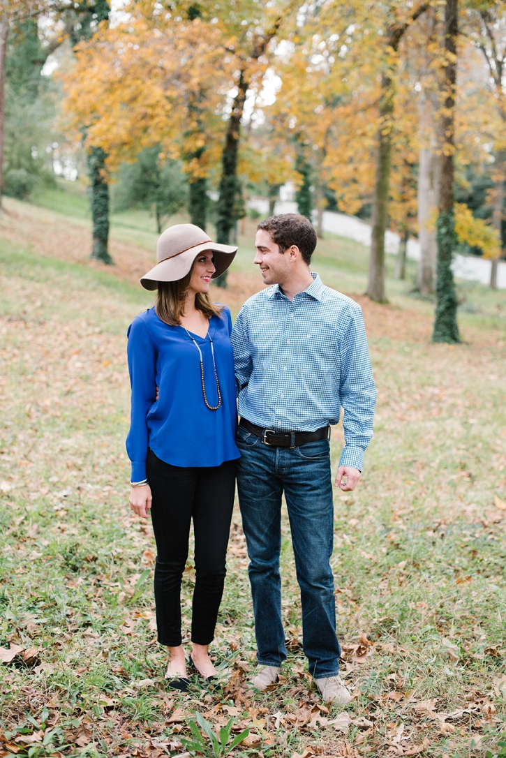 Stephanie and Hunter's precious engagement in Aiken South Carolina