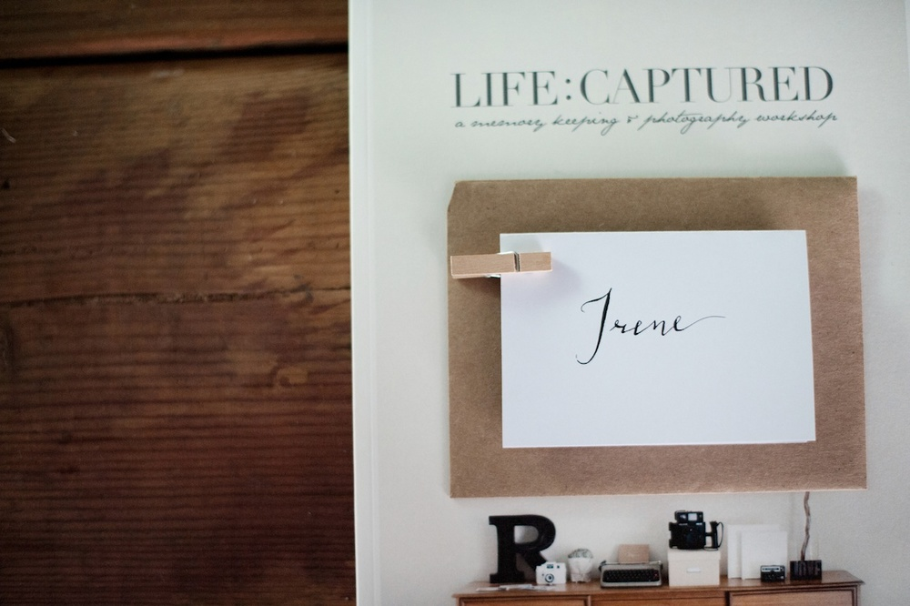 Our Signature Workshop - LIFE:CAPTURED Inc (The modern school of memory keeping)