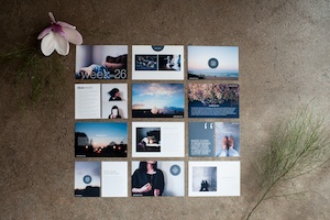 Life album templates, by LIFE:CAPTURED Inc (The modern school of memory keeping)