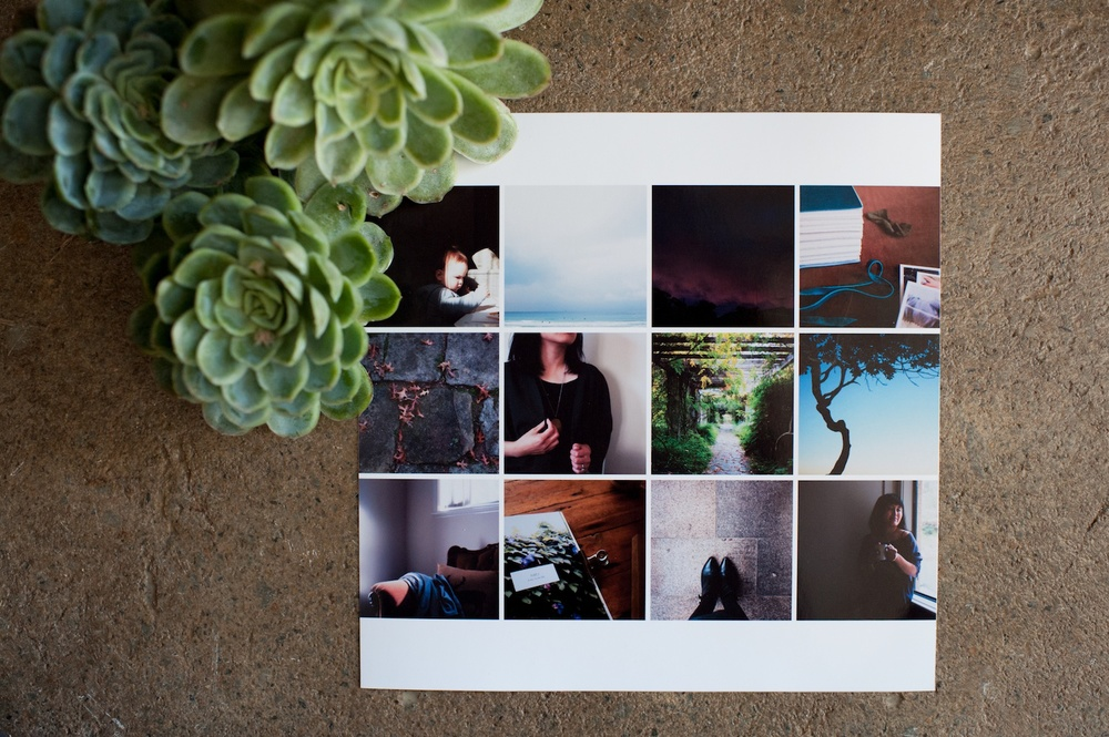 8x8 Photo Collage Inserts - Life album templates by LIFE:CAPTURED Inc (The modern school of memory keeping)
