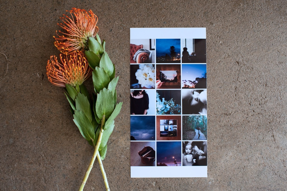 6x12 Photo Collage Insert - A life album template by LIFE:CAPTURED Inc (The modern school of memory keeping)