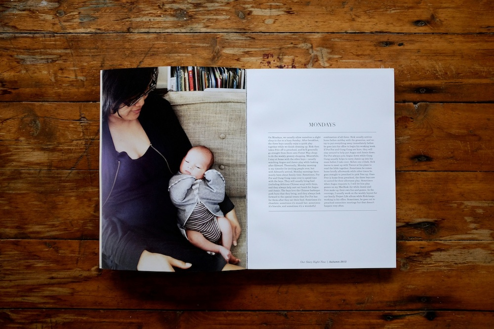 Our Story Right Now: A documentation of family rituals - A blog post by Rhonda Mason of LIFE:CAPTURED Inc