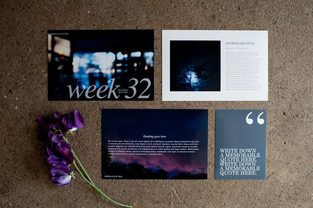 Life album templates by LIFE:CAPTURED Inc (The modern school of memory keeping)