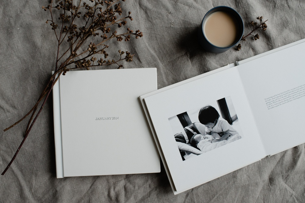 The January Project - A story book by Trish Chong for LIFE:CAPTURED Inc (The modern school of memory keeping)