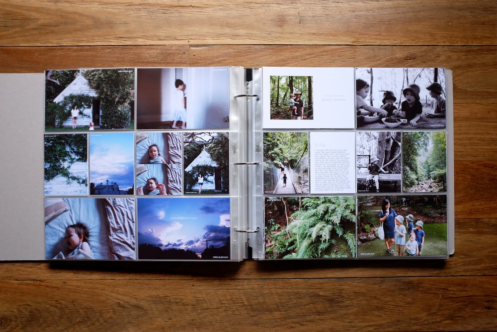 Our life album: Week 2 layouts - A blog post by Rhonda Mason for LIFE:CAPTURED Inc (The modern school of memory keeping)