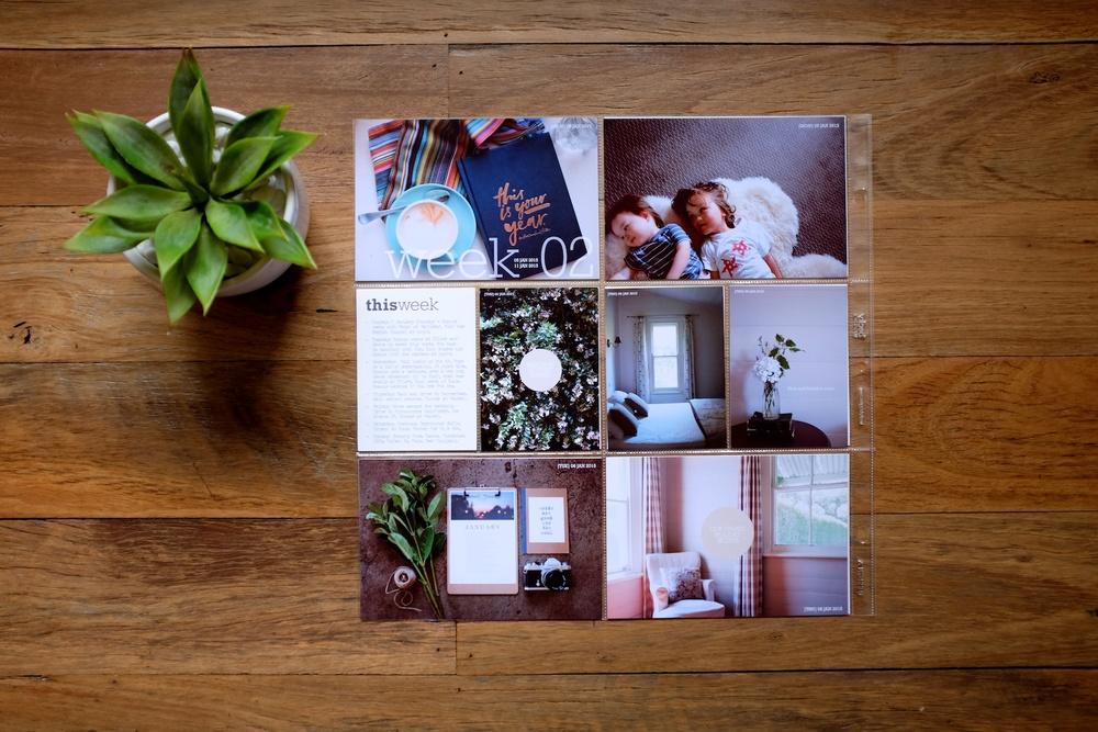 LIFE CAPTURED Inc - Our life album - Week 2 layouts - Image 1.jpg