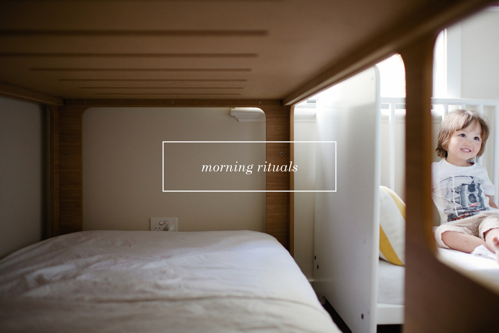 Morning rituals, Part 1 - A blog post by Rhonda Mason for LIFE:CAPTURED Inc (The modern school of memory keeping)