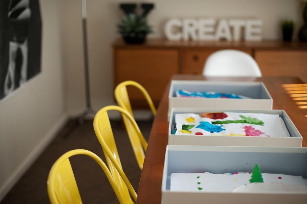Getting organised: Sorting kids' artwork - A blog post by Rhonda Mason for LIFE:CAPTURED Inc (The modern school of memory keeping)