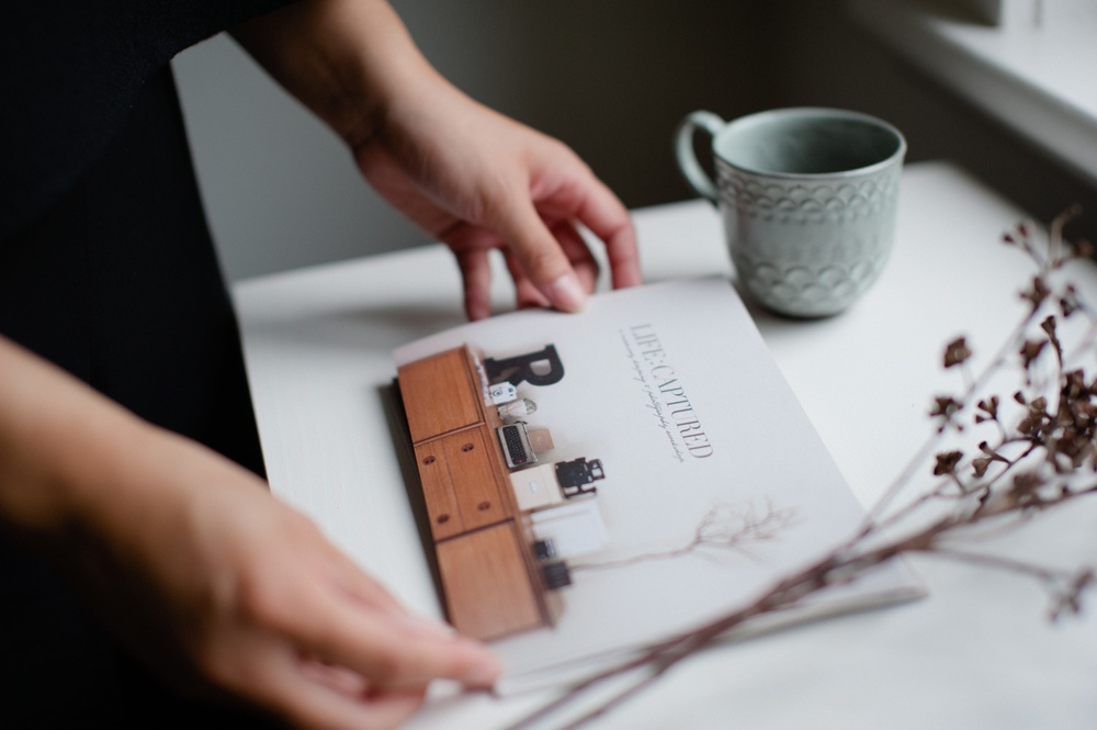 Behind the scenes: Six things - A blog post by Rhonda Mason for LIFE:CAPTURED Inc (The modern school of memory keeping)