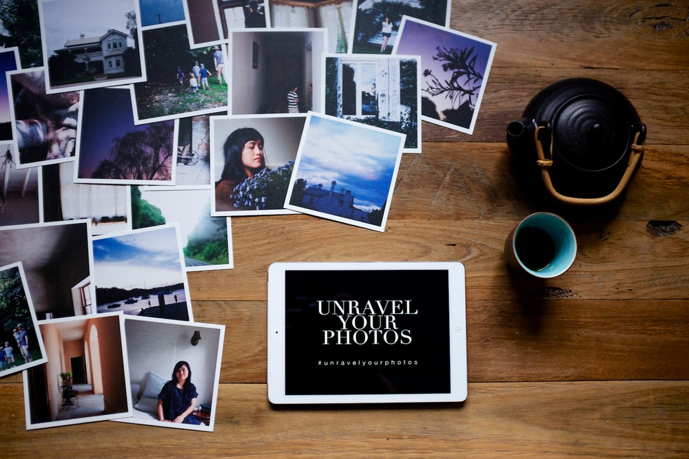 Unravel Your Photos (#unravelyourphotos) - A worldwide movement by LIFE:CAPTURED Inc (The modern school of memory keeping)