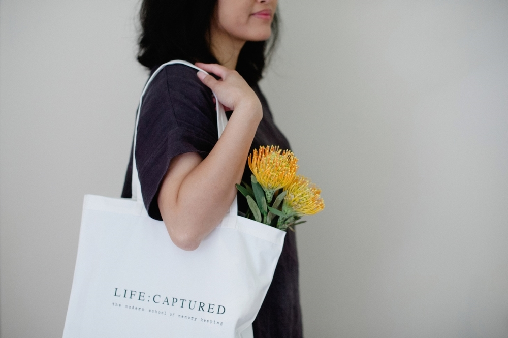 Workshop-in-a-box packages by LIFE:CAPTURED Inc (The modern school of memory keeping)