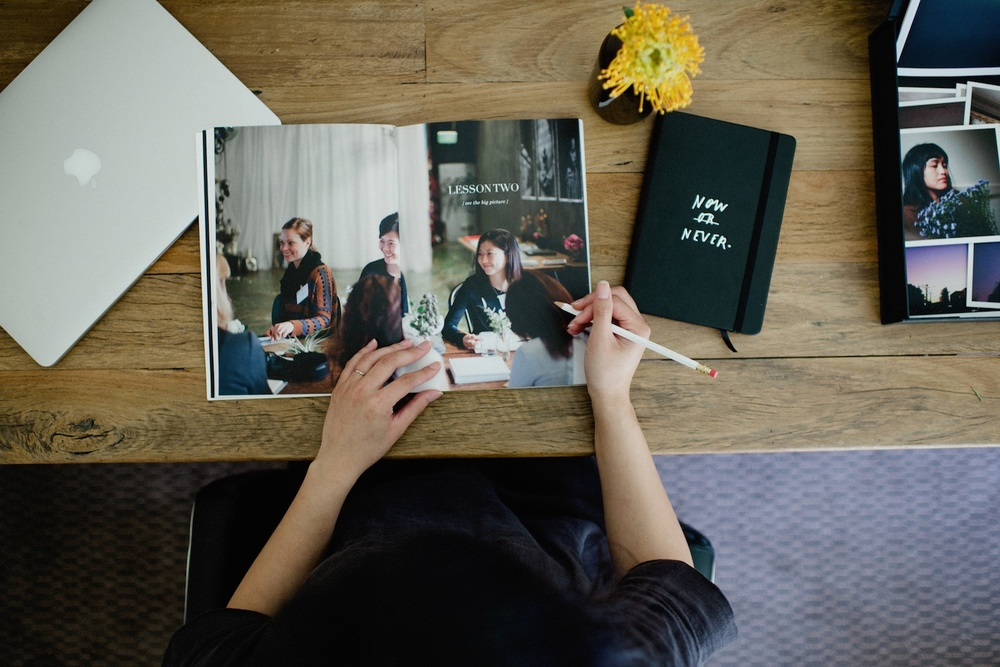 Unravel Your Photos: Our first ever workshop-in-a-box - A blog post by Rhonda Mason for LIFE:CAPTURED Inc (The modern school of memory keeping)