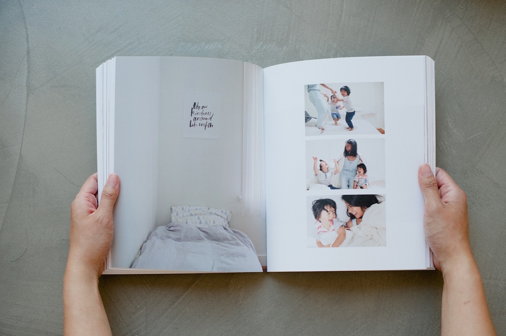 Photo book: Documenting three years of family adventures - A blog post by Trish Chong for LIFE:CAPTURED Inc (The modern school of memory keeping)