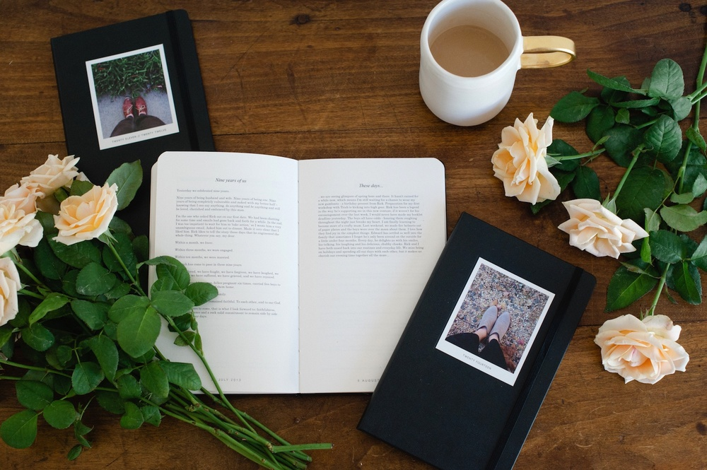 Story book: My personal journals by Moleskine & MILK BOOKS - A blog post by Rhonda Mason for LIFE:CAPTURED Inc (The modern school of memory keeping)