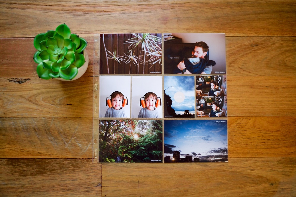 Life albums: My massive catch-up project for 2015 - A blog post by Rhonda Mason for LIFE:CAPTURED Inc (The modern school of memory keeping)