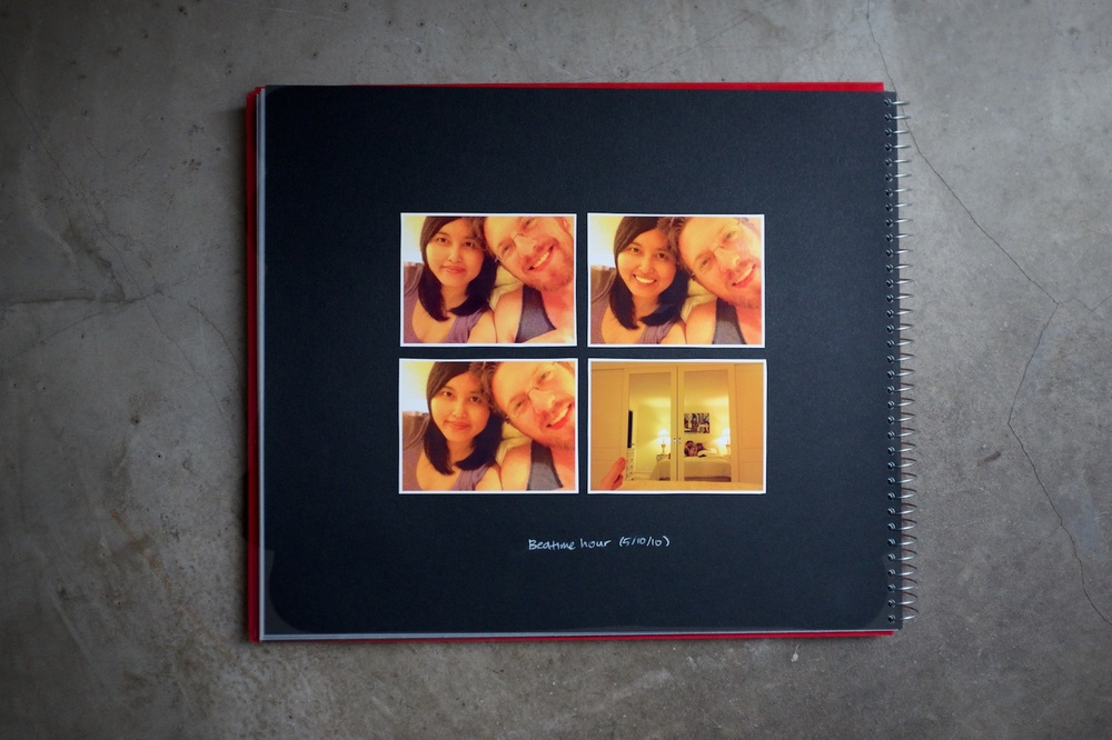 Our 'Rick and Ronnie' memoir books - A blog post by Rhonda Mason for LIFE:CAPTURED Inc (The modern school of memory keeping)