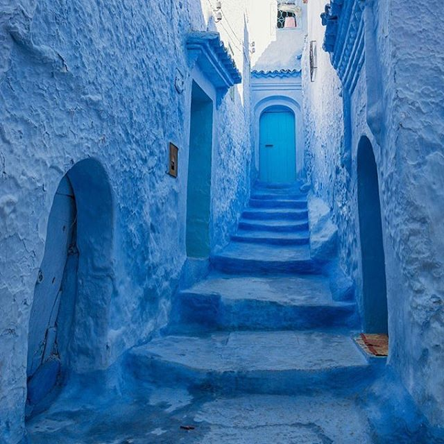 Chefchaouen #inspiration #architecture #morocco #chefchaouen #blue