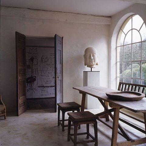 Master of wabi #axelvervoordt #raw #wabisabi #interiors