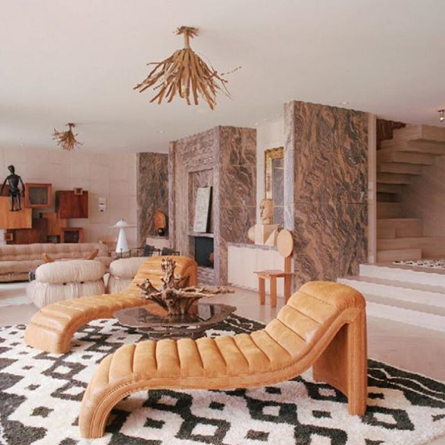 Glam lounger situation 🙌🙌🙌 #inspiration #interiors