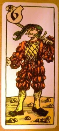 A Condottiere mercenary card