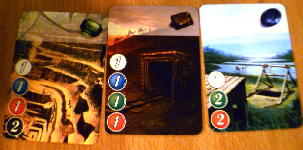Cards from Splendor