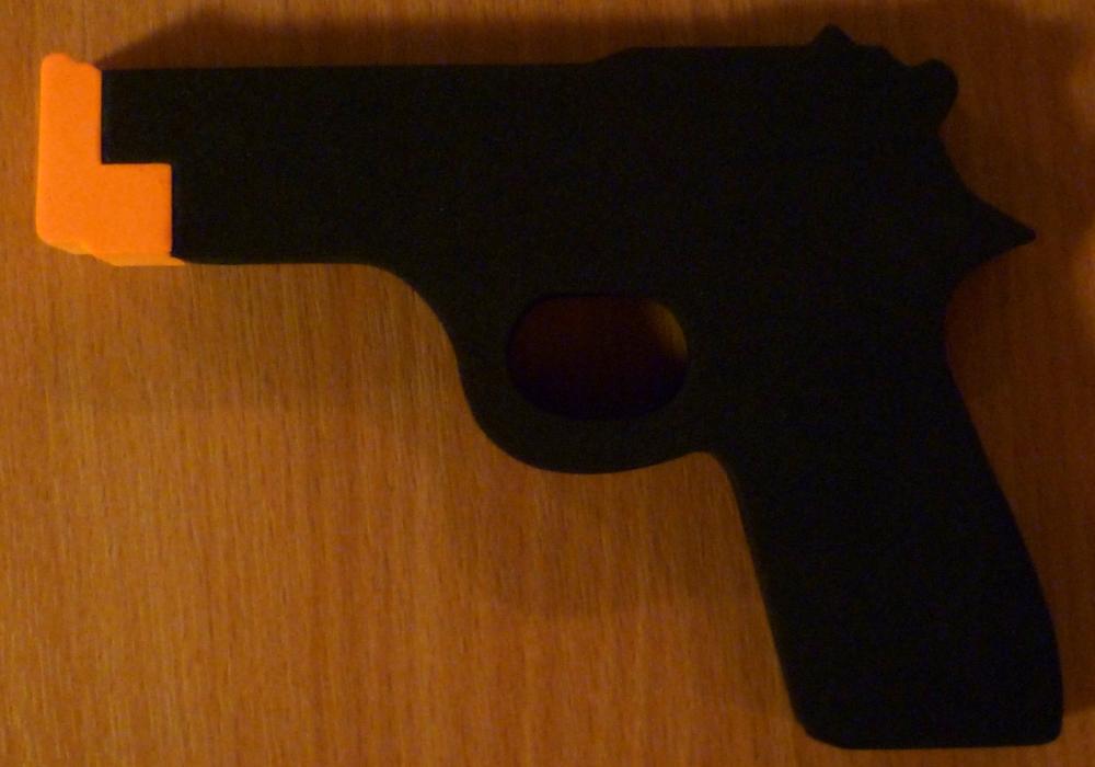 A Cash n Guns gun