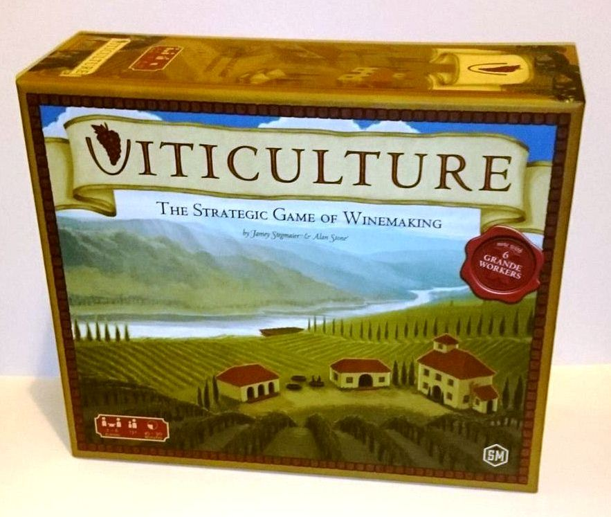 "It's a ""Strategic Game of Winemaking"", you know!"