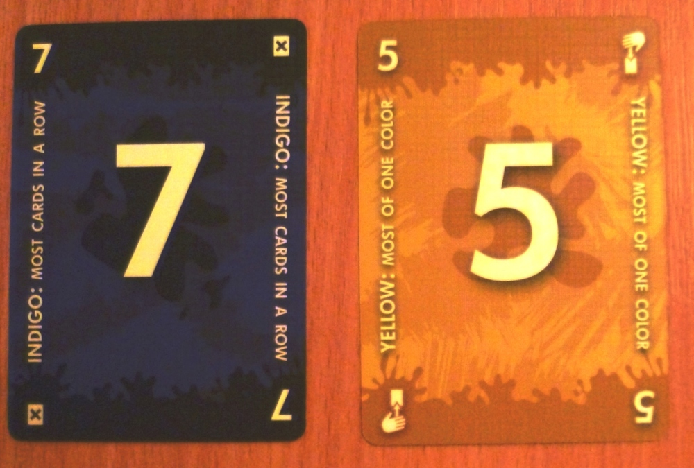 Two cards from Red7