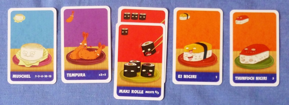 (Library Photo) a hand in Sushi Go!