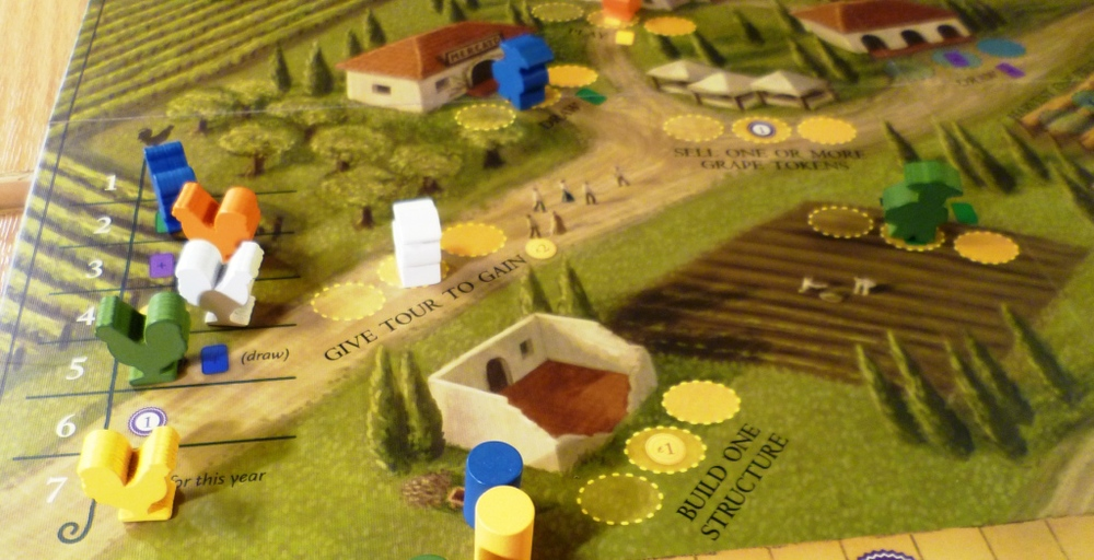 The Cockerels on the left indicating player order
