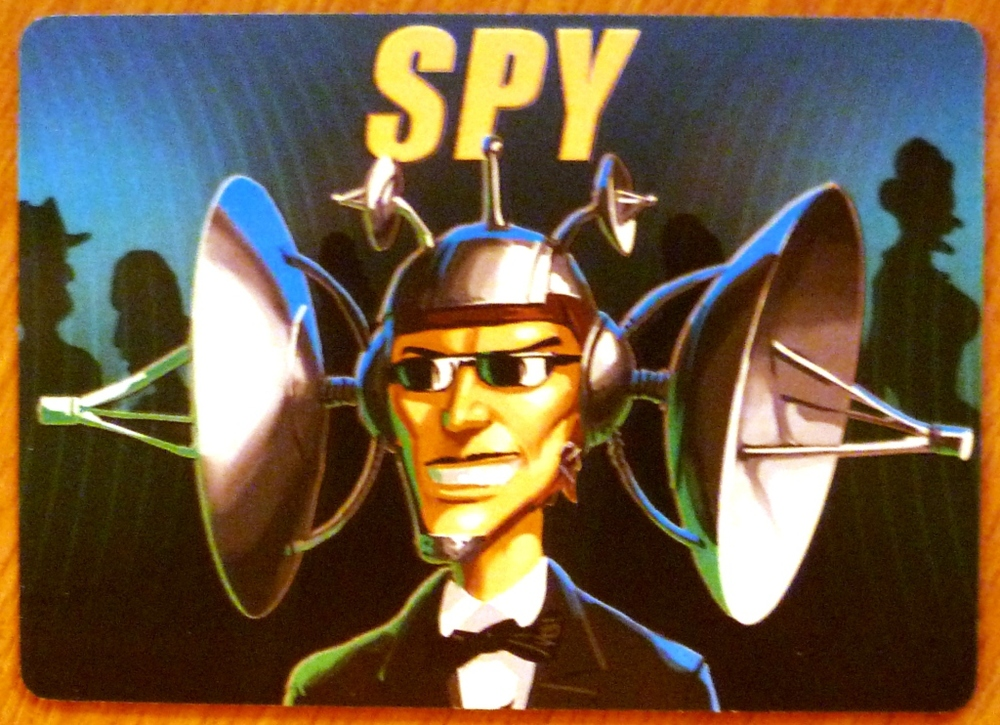 The Spy card