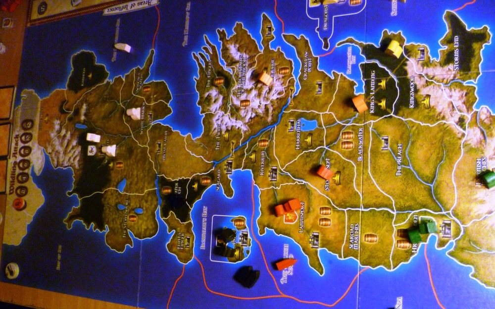 A Game of Thrones Game - board