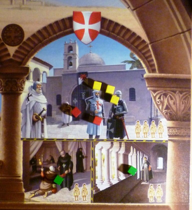 Part of the Jerusalem board