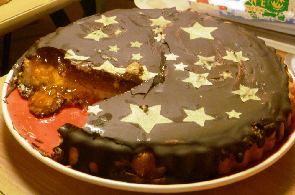 The Giant Jaffa Cake