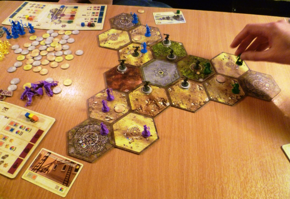 Hyperborea being played 3-player