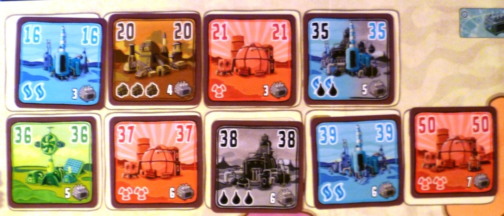 Power Plants from the Deluxe version
