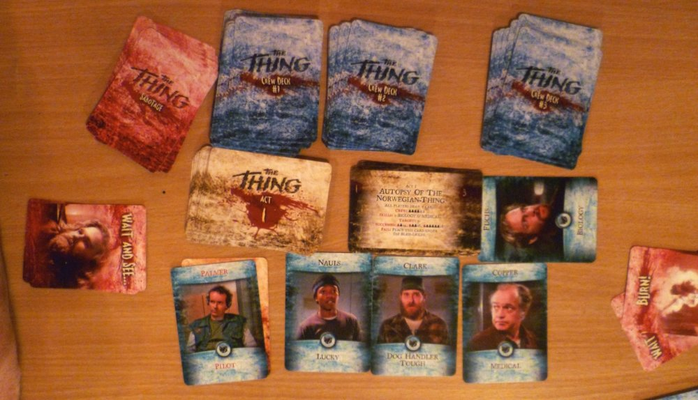 The Thing - print and play version