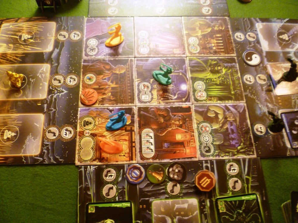 Ghost Stories board