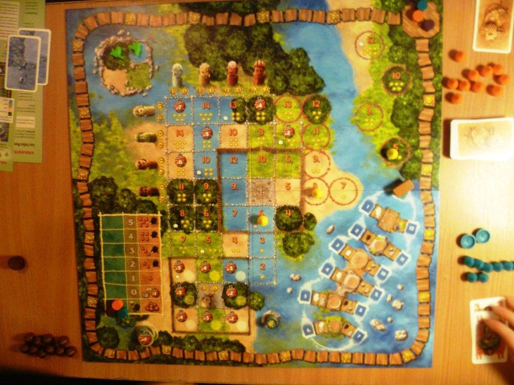 Mangrovia - the board