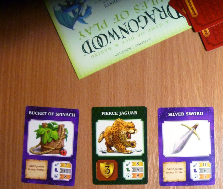 Dragonwood, a players winnings very early in the game