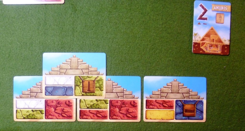 A players Pyramid in the game Pyramids