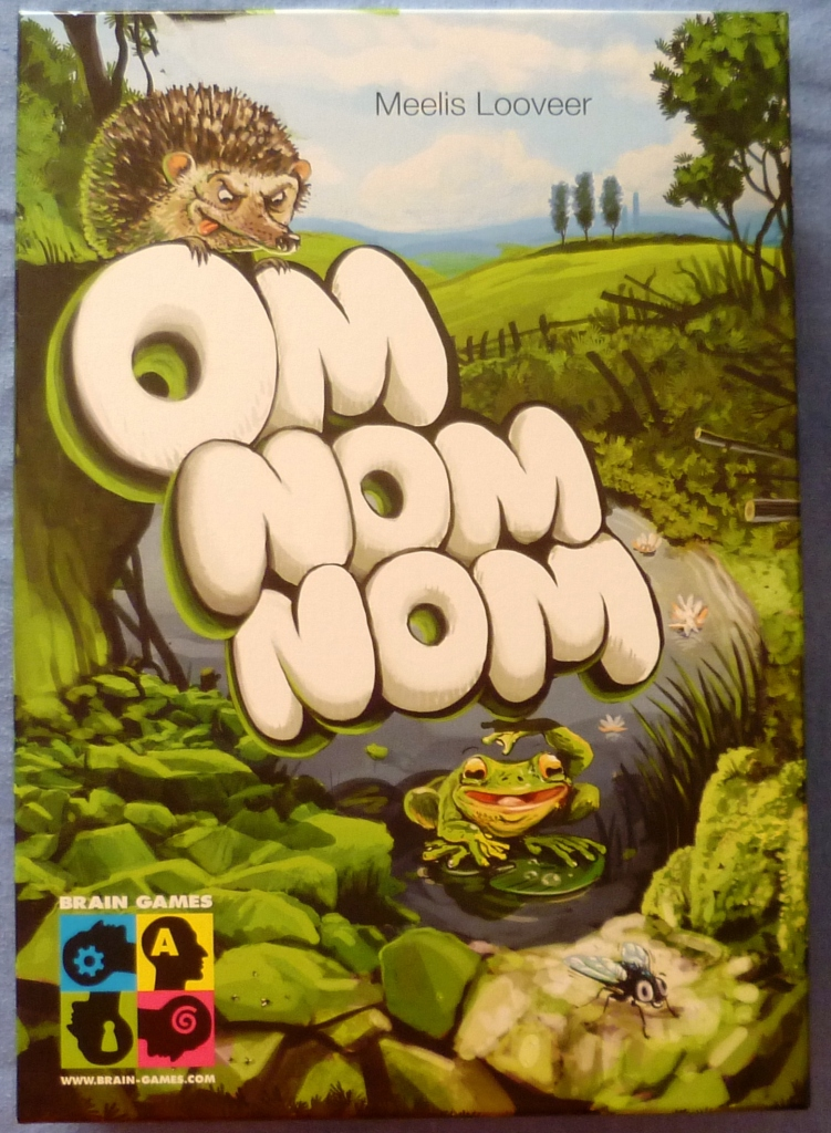 Om Nom Nom had a repeat appearance in the annual top games played at the club, a typical lightweight filler with simple rules, engaging and an excellent intro game for non-gamers.