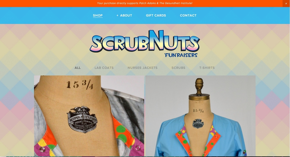 Scrubnuts Homepage