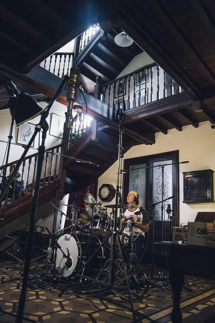 Chad Smith & The Stairway to Heaven by Lee Kirby