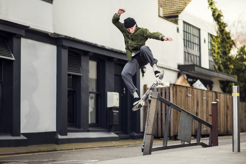 Harley Miller | Boardslide Pop over