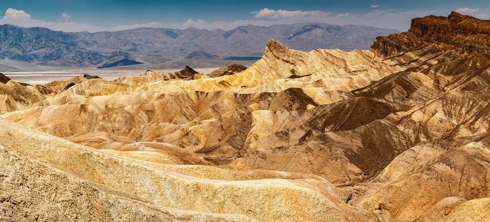Zabriskie Point, Death Valley CA