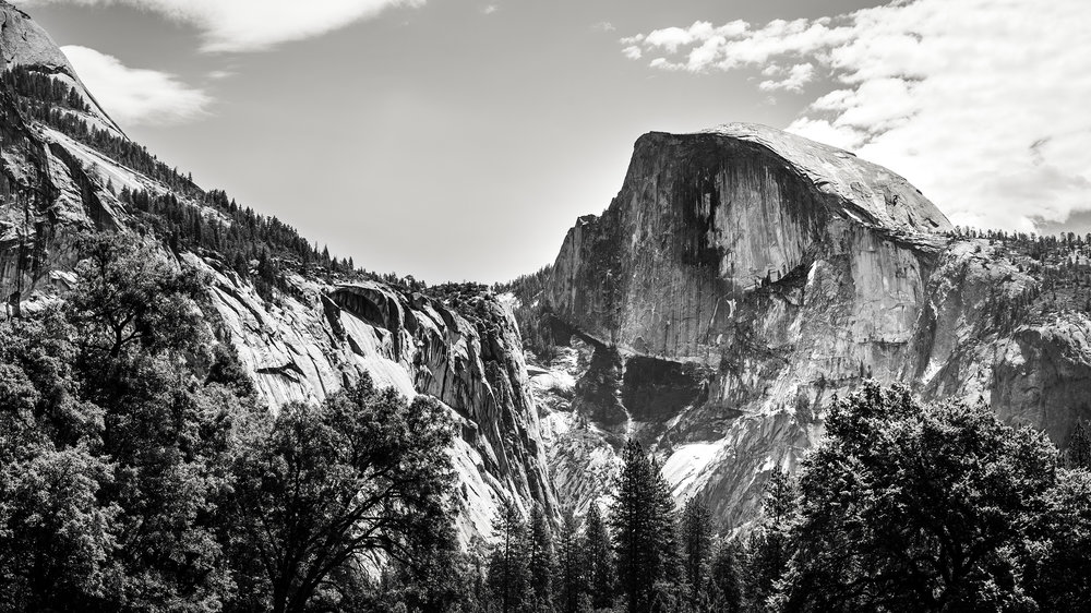 Half Dome 70mm F/9 1/80 sec ISO 100