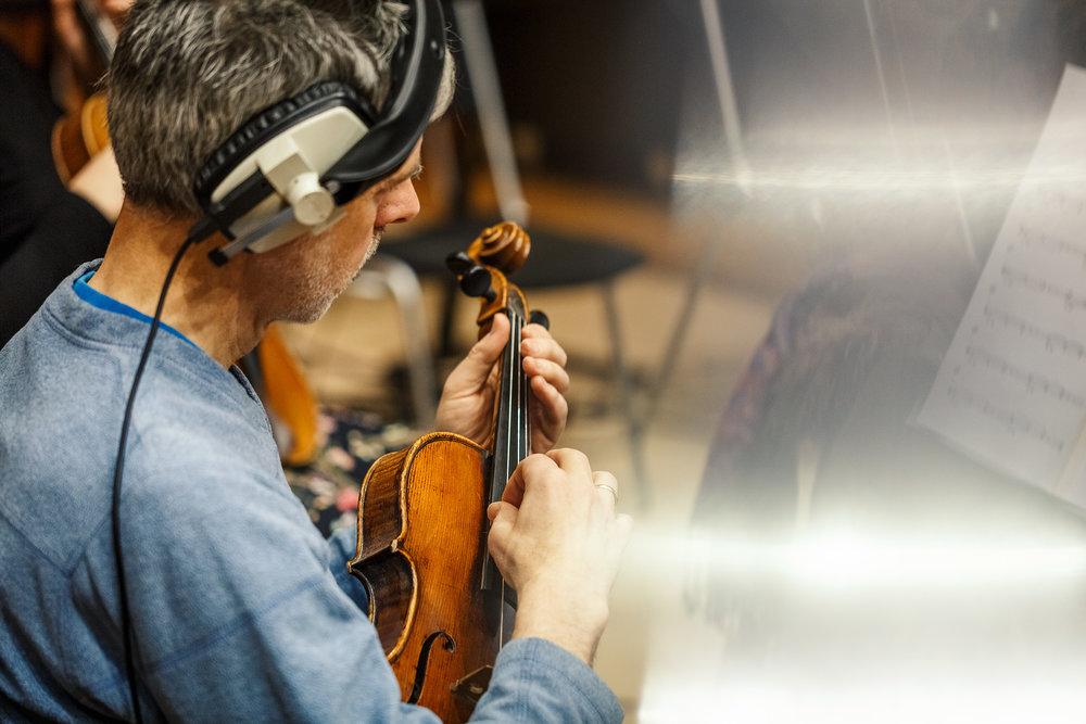 Orchestral Swarm Recording | Spitfire Audio