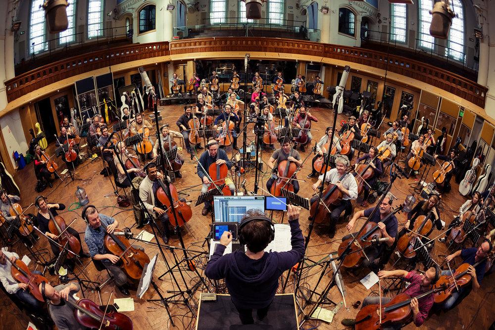 Hans Zimmer 60 Cellos Air Studios